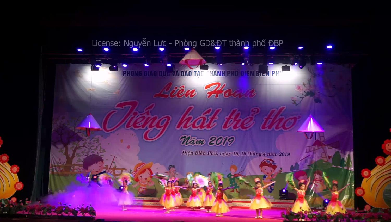 Video Liên hoan tiếng hát trẻ thơ Tp. Điện Biên Phủ của  trường MN Thanh Trường